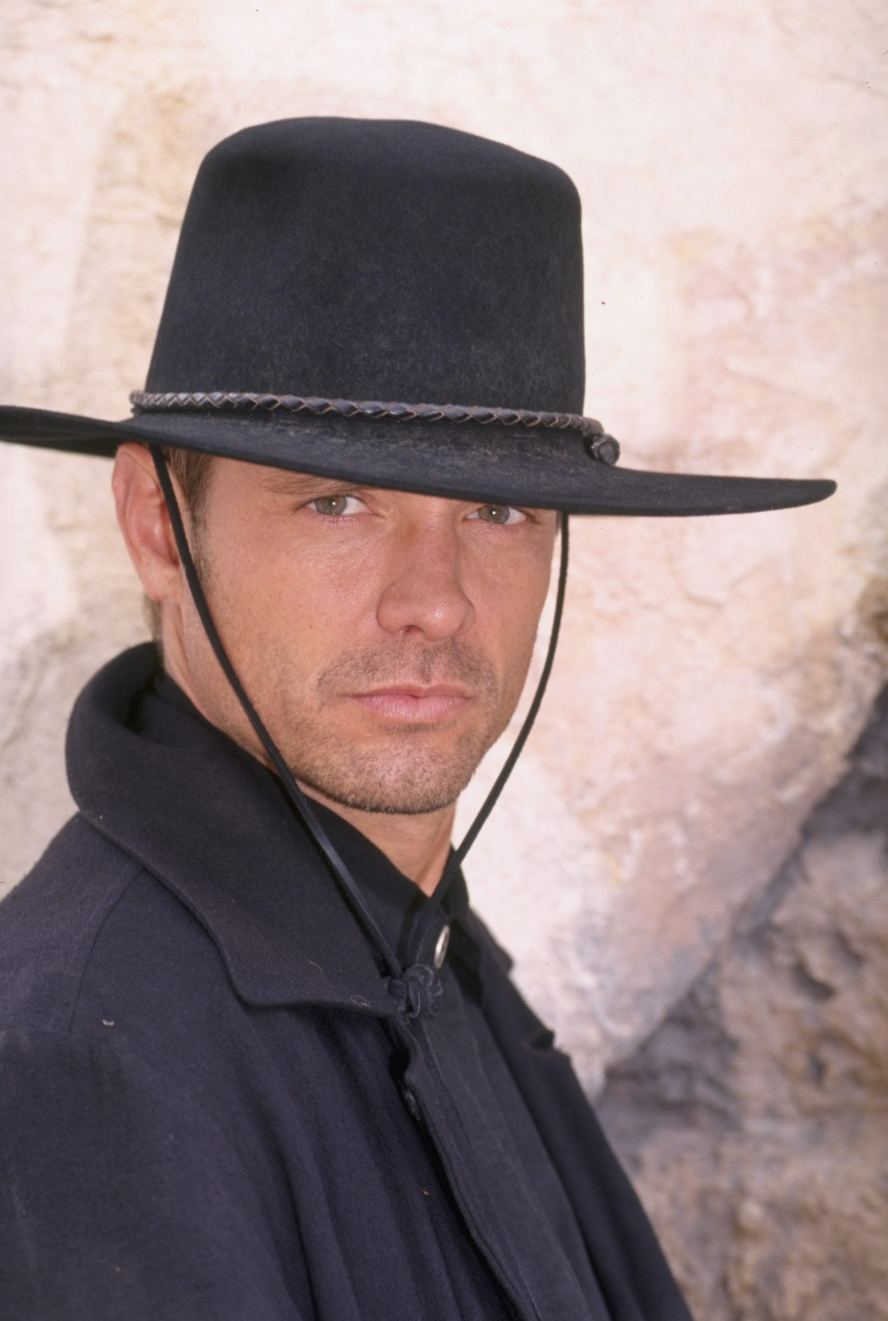 Michael Biehn as Magnificent 7's Chris Larabee