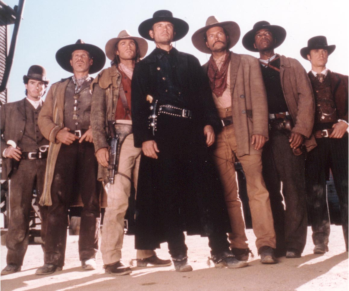 Cast of the Magnificent 7 - Stars of Internet Fan Fiction